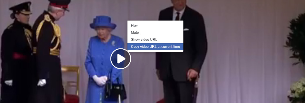 how to copy facebook video URL